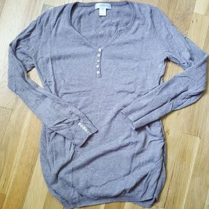 Light maternity sweater. Small.